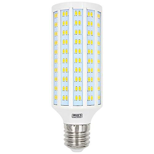 MENGS Bombilla LED E40 40W Lámpara LED, Equivalente 300W Halógena lampara LED, Blanco Cálido 3000K, AC 85-265V, 3900LM, luces LED