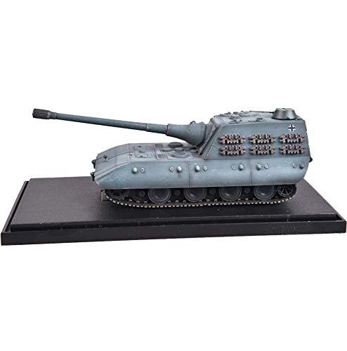 JHSHENGSHI Modelo de Tanque 1/72 WWII Alemania D-Series E-100 Tanque Pesado, Juguetes y Regalos Militares, Tiempos de 5 Pulgadas; 1,7 Pulgadas