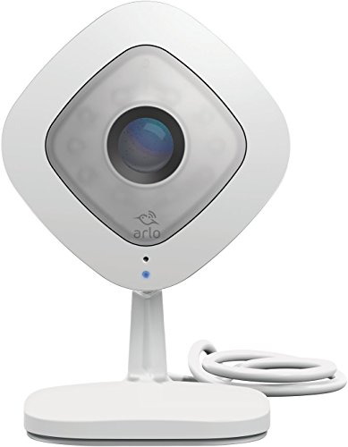 Arlo Q VMC3040-100NAR 1080p HD Cam with Audio, White (Renewed)