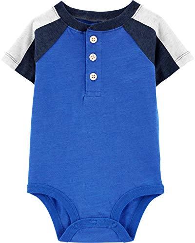 OshKosh B'Gosh Baby Boy's Raglan Sleeve Bodysuit