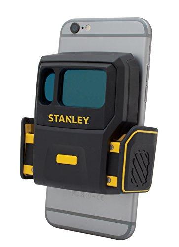 Stanley STHT1-77366 Smart Measure Pro lasermeter, vlakmeter, automatische, snelle en nauwkeurige oppervlakteberekening en materiaalcalculatie