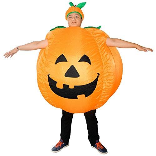 VGEBY1 Halloween-pompoenkleding, opblaasbaar grappig feest pompoen kostuum feest karikatuur kleding