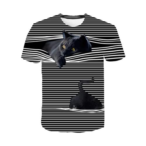 Lion T-Shirt - Camiseta para hombre, diseño de animales