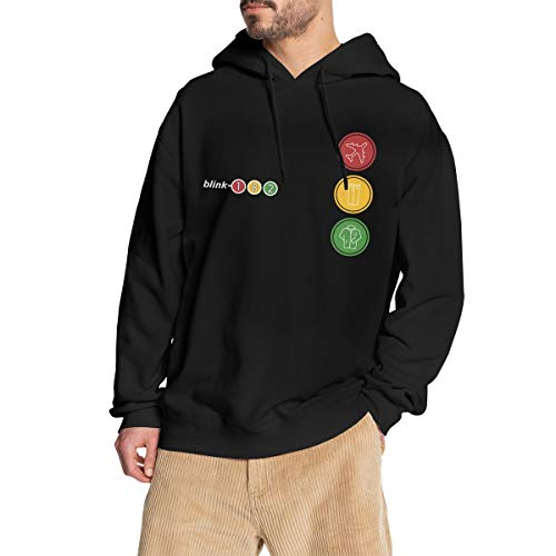 GJINNANFANGBEN Herren Blink 182 Soft Take Off Your Pants and Jacket Hoodie Fashion Sweatshirt Pullover Black XL