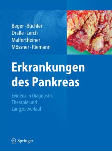 Erkrankungen des Pankreas: Evidenz in Diagnostik, Therapie und Langzeitverlauf