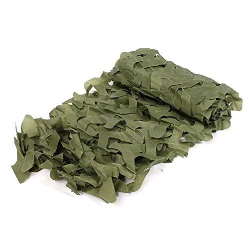N\A Auto atmungsaktive Autoabdeckung Camo Tarnnetz for Auto-Abdeckung Camping Militär-Jagd-Schießen Verstecken 1mx2m Wasserdicht Scratch Proof Durable Car Cover (Farbe : Grass Green)