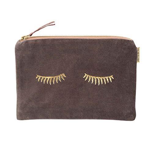 ARTEBENE Cosmetics bag toiletry bag make-up bag make-up velvet sleepy eyes