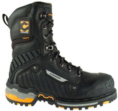 Chinook Footwear Men's Scorpion II Heavy Duty-9-Black