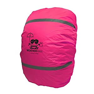 41qVFS9x4KL. SS300  - WeatherMan Funda de Mochila niños cartera I Protector De Lluvia, Impermeable I Escuela, kindergarten, parvulario
