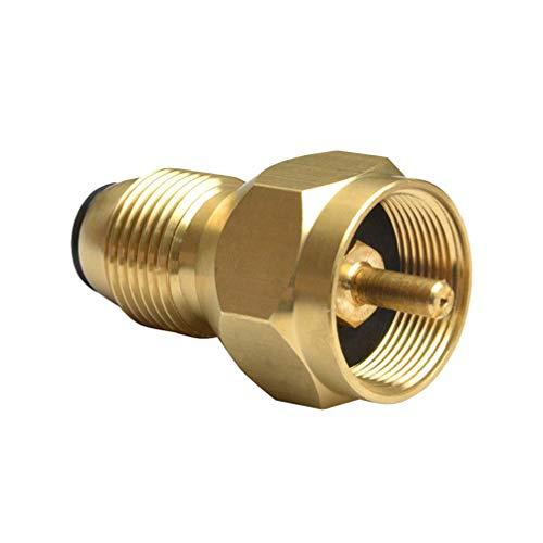 DOITOOL Gastank-Adapter Universal Propangasbehälter Nachfülladapter Gasflasche für BBQ Grill Propan-Adapter für Zuhause Außen Gastank Joint
