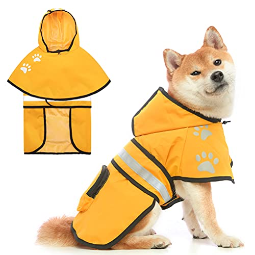 Impermeable Perro  marca PAWCHIE