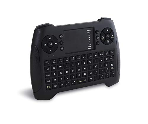 Vilros 2.4GHz Mini Wireless Keyboard and Touchpad with Gaming Style Mouse Buttons -Great for Raspberry Pi