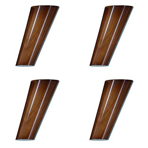 Poten voor meubels van massief hout, materiaal van natuurlijk eikenhout, antislip, ongevoelig, 8 cm ~ 40 cm, poten van de kast/tafelpoten