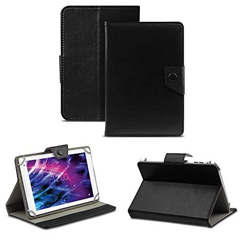 NAUC Tablet Hülle für Medion Lifetab P8514 P8314 P8312 P8311 Tasche Schutzhülle Hülle Cover, Farben:Schwarz