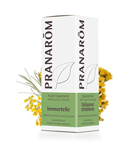 Pranarôm | Huile Essentielle Immortelle - Helichrysum italicum - Hélichryse italienne | Sommité fleurie | HECT | 5 ml