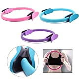 DTESTORE New Dual Grip Pilates Ring Magic Circle Muscles Body Exercise Yoga Fitness Tool