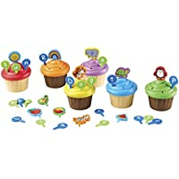 Learning Resources ABC Cupcake Party Toppers Toy