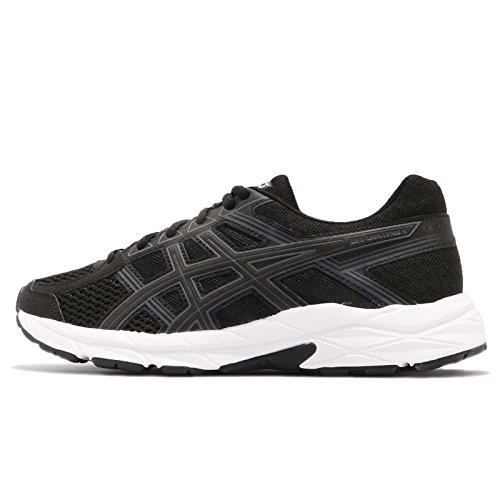 Asics Gel-contend 4, Women's Running Shoes, Black (Black/White 001), 4 UK (37 EU)