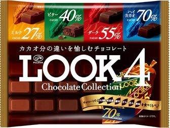 不二家 LOOK4チョコレートコレクション185g×3個