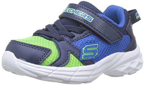 Skechers Eclipsor-Interpulse, Zapatillas Niños, Azul (BLLM Blue & Lime Textile/Navy Trim), 21 EU