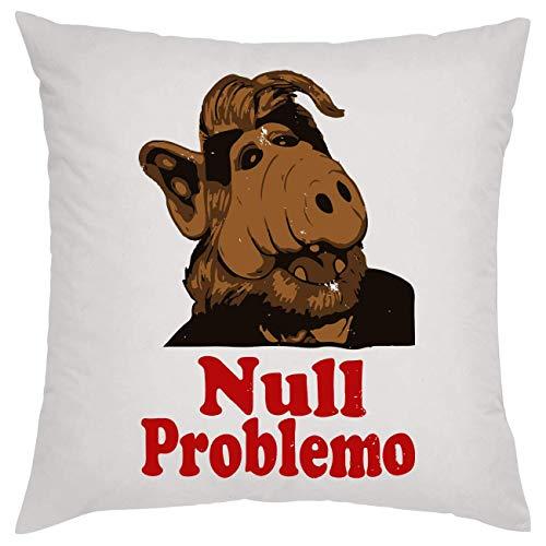 NoMoreFamous Null Problemo Alf Melmac Kissen Pillow