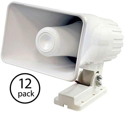 Pyle PHSP4 6 Inch 50 Watt Indoor/Outdoor Waterproof PA Horn Speaker,...