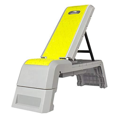 Banco de Pesas multifuncion Multipropósito entrenamiento ajustable Utilidad de pesas cama de Full cuerpo en posición vertical, inclinado, declinado, y Flat ejercicio de entrenamiento de cuerpo complet