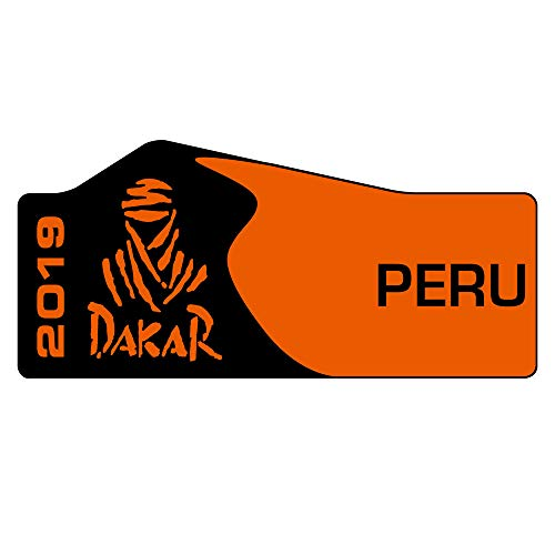 DAKAR Edition Aufkleber 2019 | 16 x 7 cm | AG-0110-BT