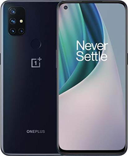 OnePlus Nord N10 5G 128GB Handy, dunkelblau, Midnight Ice, Android 10