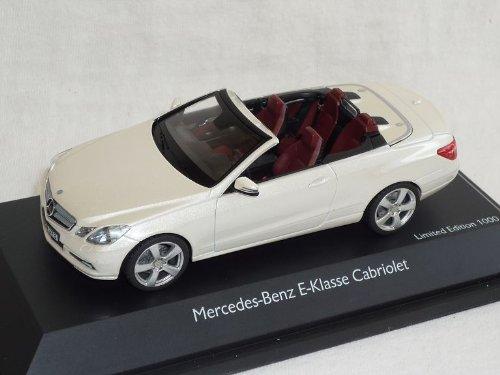 Preisvergleich Produktbild Schuco Mercedes-Benz E-klasse W212 Ab 2009 Cabrio Weiss A209 1 / 43 Modell Auto Modellauto