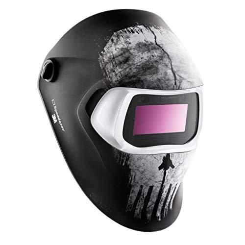 3M Speedglas 100 Laskap Skull mit Schweißfilter 100V Farbe 8-12