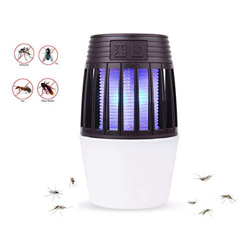 Zeerkeers anti-muggenlamp camping anti-muggenlamp met UV-licht Bsin Odor zonder Spray hoge spanningslamp om insecten te doden tegen vliegen, motten, insecten voor thuis, kantoor