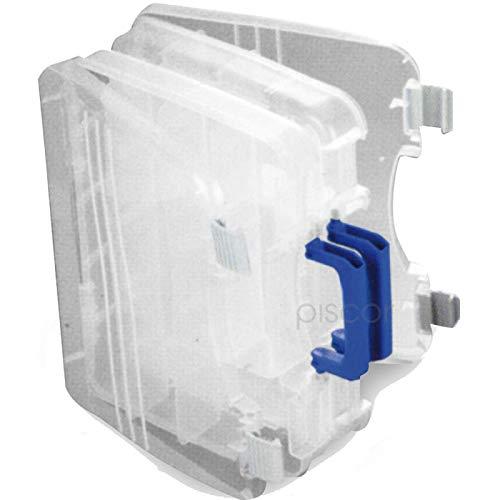 Lineaeffe Boîte 2 Couvercles 3 28 x 22 x 6 cm Boîte de Pêche Rangement Accessoire Leurre Hameçon Compartiment Plastique