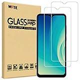WFTE [2-Pack] Protector de Pantalla para ZTE Blade A7s 2020,9H Dureza,Huellas Dactilares Libre,Sin Burbujas,Cristal Templado ZTE Blade A7s 2020
