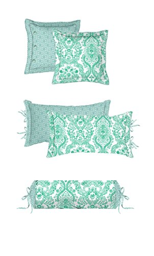 PiP Studio Lacy Dutch - Cojín decorativo (45 x 45 cm), diseño...
