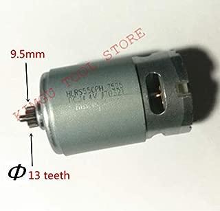 Corolado Spare Parts, 13Teeth 13 Teeth Motor 14.4V Replace for Bosch Gsr14.4-2-Li Psr 14,4 Li-2 Psr14.4Li-2 Psr1440Li-2 Gsr 14,4-2-Li Drill Engine