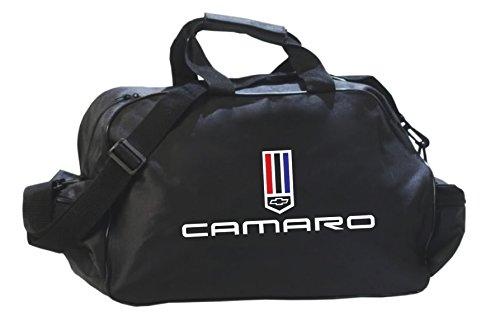Camaro Logo Sporttasche Leichte Seesack Reisegepaeck Duffel Wochenende Uebernachtung Taschen fuer Reisen Sport Gym Urlaub