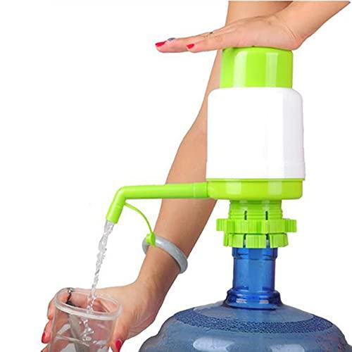 HUANGDAN Dispensador de Cubos de Agua Botella Manual Bomba de Agua Bomba presión Manual portátil para Acampar Beber Tubo extraíble Innovadora Bomba de acción de vacío Herramienta dispensadora # 50
