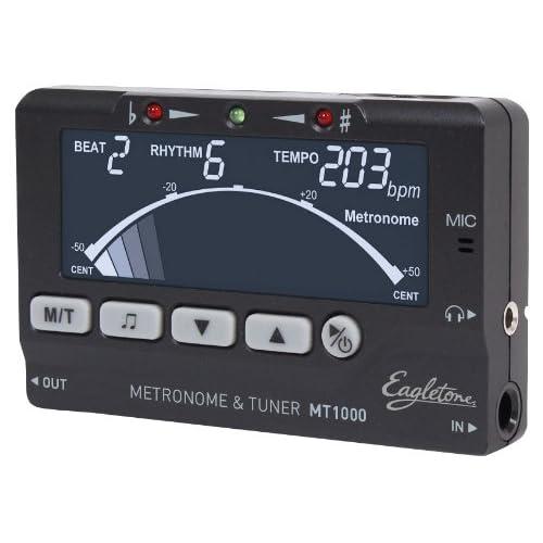 Eagletone MT1000 Accordeur métronome Noir