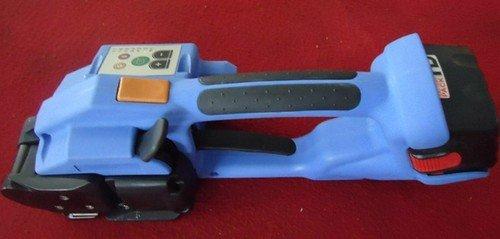 Gowe Handheld alimentation par batterie pour animal domestique et plastique soudé, outil de cerclage, Electrique, PP/machine d'emballage pour animal domestique cerclage 12–16 mm