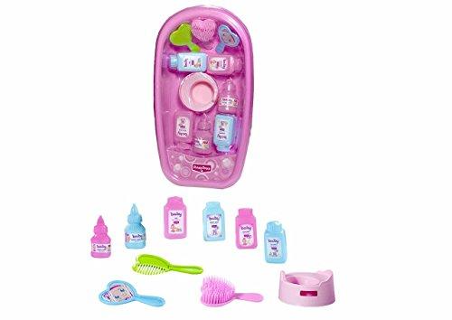 Rosa Toys- Bañera con Accesorios baño 38x20x10, Multicolor (111)