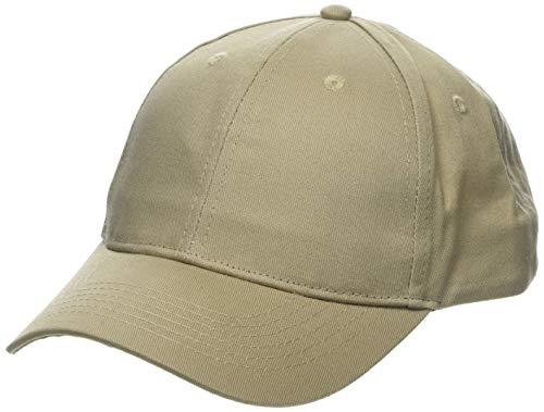 Burton Menswear London Herren Baseball Cap Baseballkappe, Gebrochenes Weiß (Stone 200), Einheitsgröße