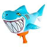 SwimWays Blow Up Blaster - Inflatable Shark Water Blaster Pool Toy