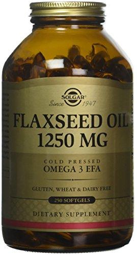 Solgar Flaxseed Oil Supplement, 1250 mg,...