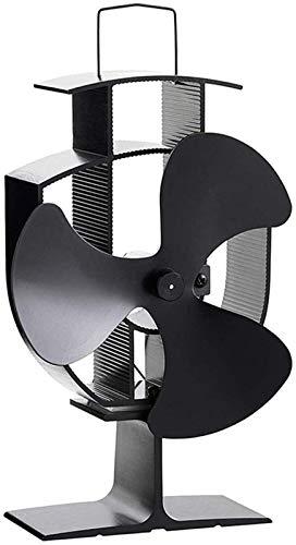 Holzofen Fan Wärme Powered 3 Blätter for Holz/Holzofen/Kamin Silent-Eco Friendly Efficient Fan Batterien Nicht erforderlich Holzofen Fan