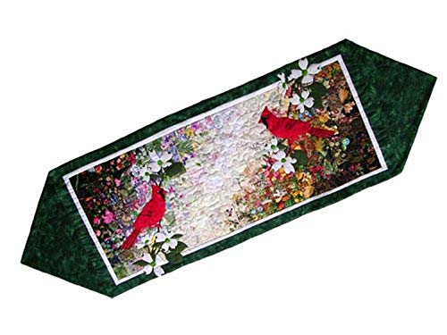Whims Watercolor Quilt Kits Cardinal Table Runner Quilting Supplies
