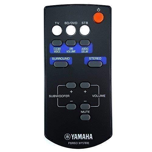 Original Yamaha FSR60 WY57800 Barra de Sonido Mando A Distancia