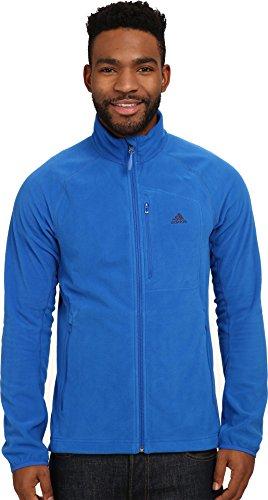 Herren-Fleecejacke von Adidas, für Outdoor-Aktivitäten Gr. XXL, Blau - Blue Beauty