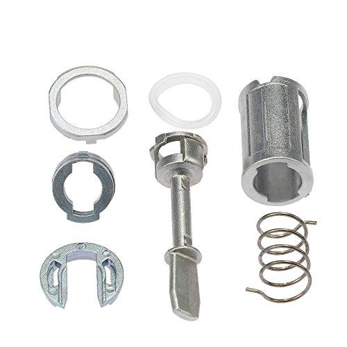 KKmoon Tür schloss Zylinder Reparatur Kit vorne links rechts Ersatzteile für PASSAT LUPO AROSA LEON TOLEDO