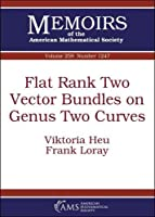 Flat Rank Two Vector Bundles on Genus Two Curves (Memoirs of the American Mathematical Society)